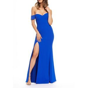 NWOT! Dress the Population Logan Gown